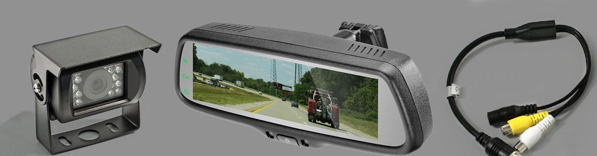 Камера и зеркало заднего вида с дисплеем