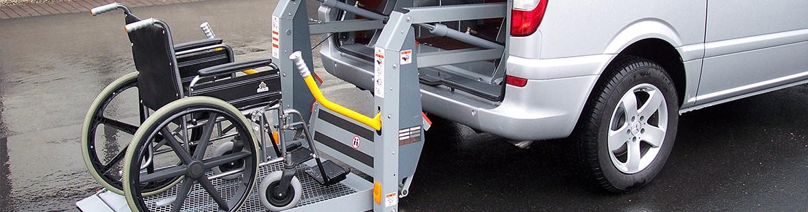 Пассажирский гидроборт для автобуса