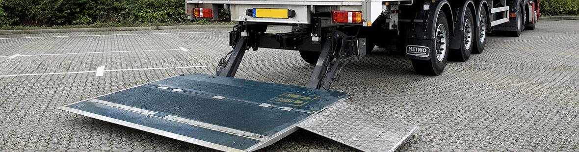 Гидроборт стандартный для промтоварного фургона
