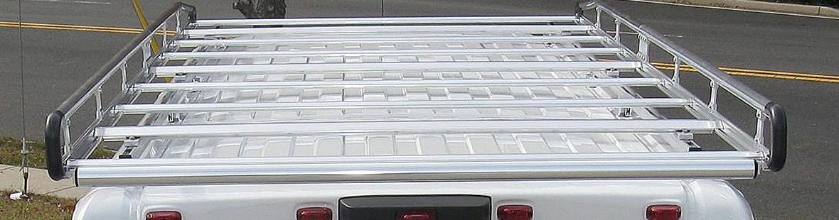 Нержавеющий багажник с роликом для Nissan NV400