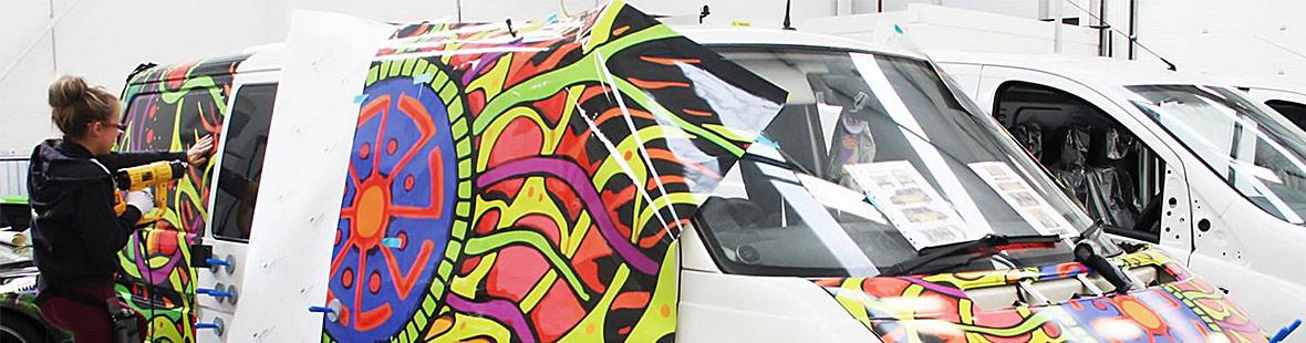 Оклейка ПВХ-плёнкой Ford Ranger