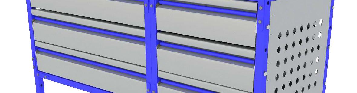 Закрытая стеллажная система для Citroen Jumper