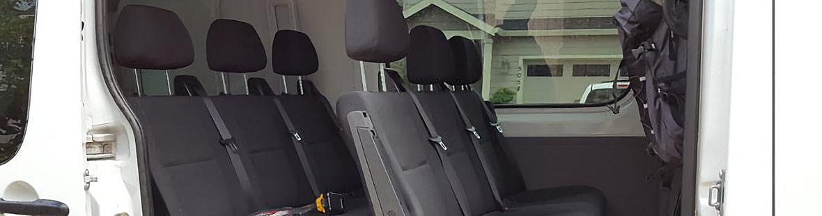 Переоборудование фургона в пассажирский «Эконом»
