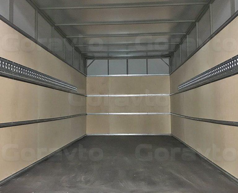 Обшивка промтоварного фургона берёзовой фанерой