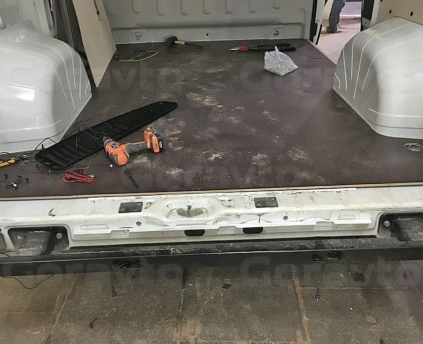 Установка парктроника в фургон: Установка парктроника в фургон