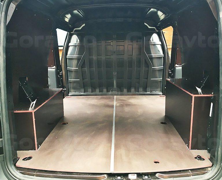 Обшивка ламинированной фанерой фургона Lada Largus