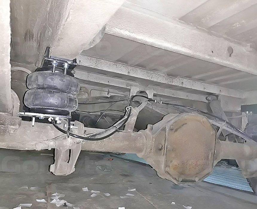 Пневмоподвеска для фургона Mercedes-Benz Sprinter Classic: Подушка с контуром