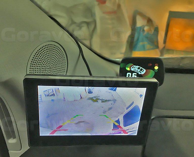 Установка камеры заднего вида в фургон Mercedes-Benz Sprinter Classic