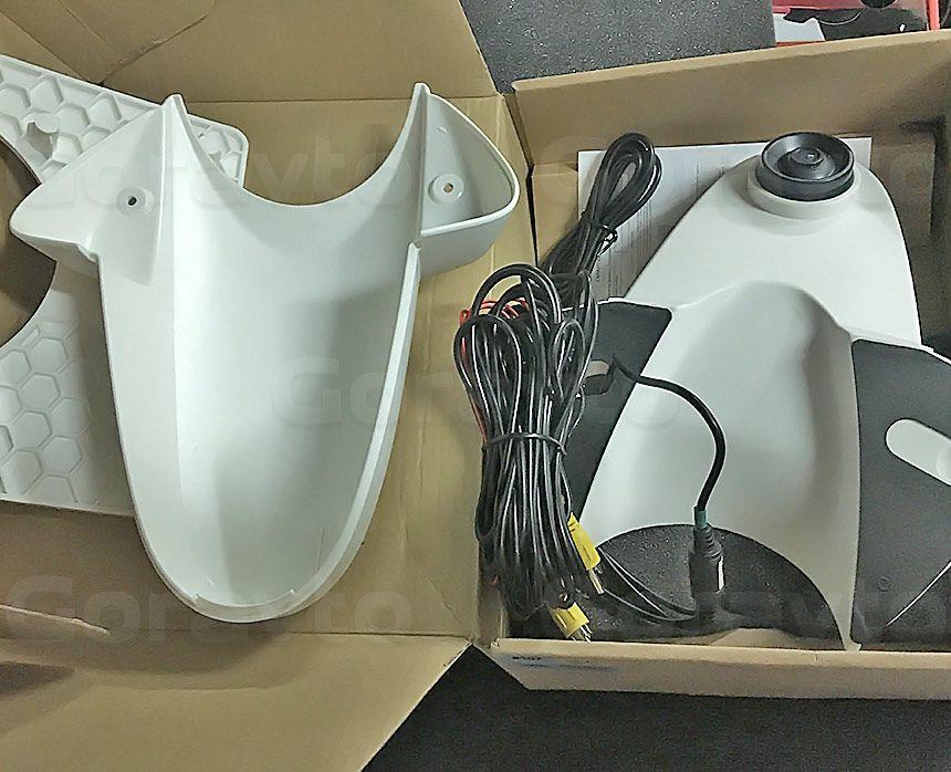 Установка камеры заднего вида в фургон Mercedes-Benz Sprinter Classic: Подготовка к установке