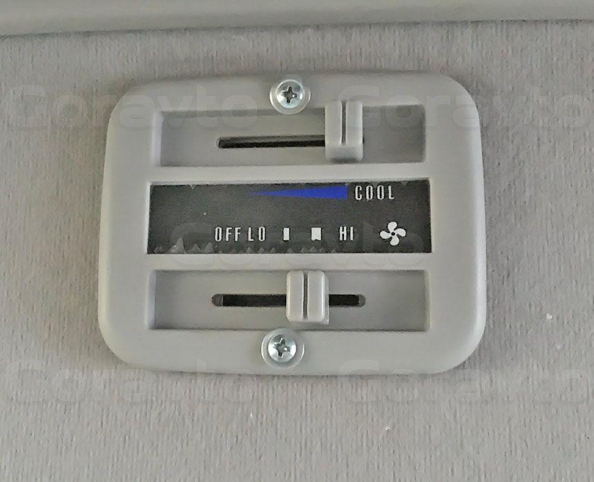 Утепление цельнометаллического фургона Ford Transit: Регулятор температуры