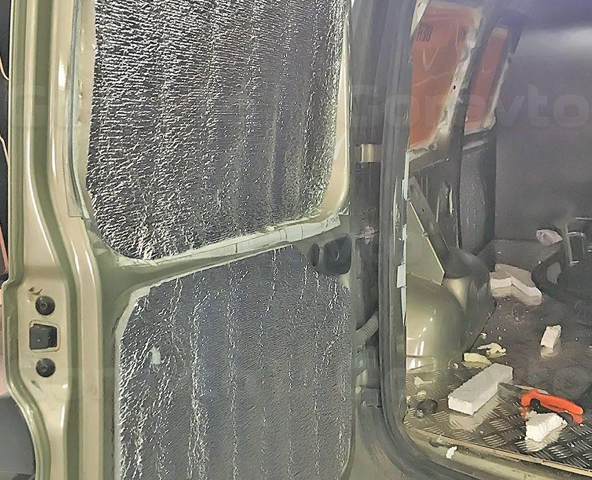 Утепление фургона Лада Ларгус: Утепление стен, дверей и потолка Пеноплексом и Пенофолом