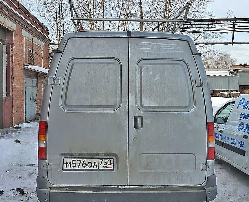 Автомобиль для охоты на основе фургона ГАЗ Соболь: Багажник на Соболь вид сзади