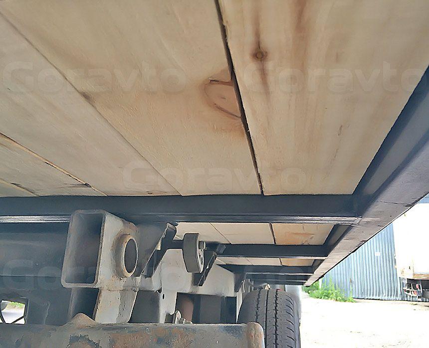Ремонт рамы промтоварного фургона: Новые пол и рама