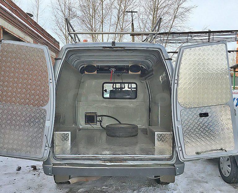 Автомобиль для охоты на основе фургона ГАЗ Соболь