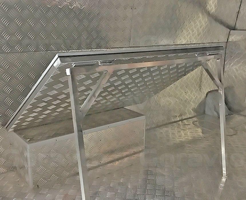 Автомобиль для охоты на основе фургона ГАЗ Соболь: Разделочный столик в кузов фургона