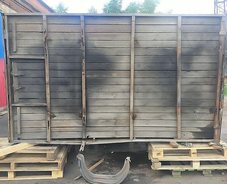 Ремонт рамы промтоварного фургона: Старая будка фургона