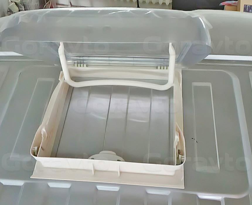 Установка люка в грузопассажирский фургон Fiat Ducato: Подготовка установки люка на крышу фургона