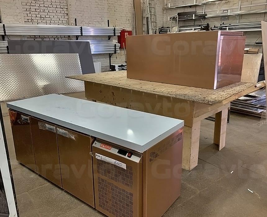 Холодильник модульный для установки в закрытое пространство