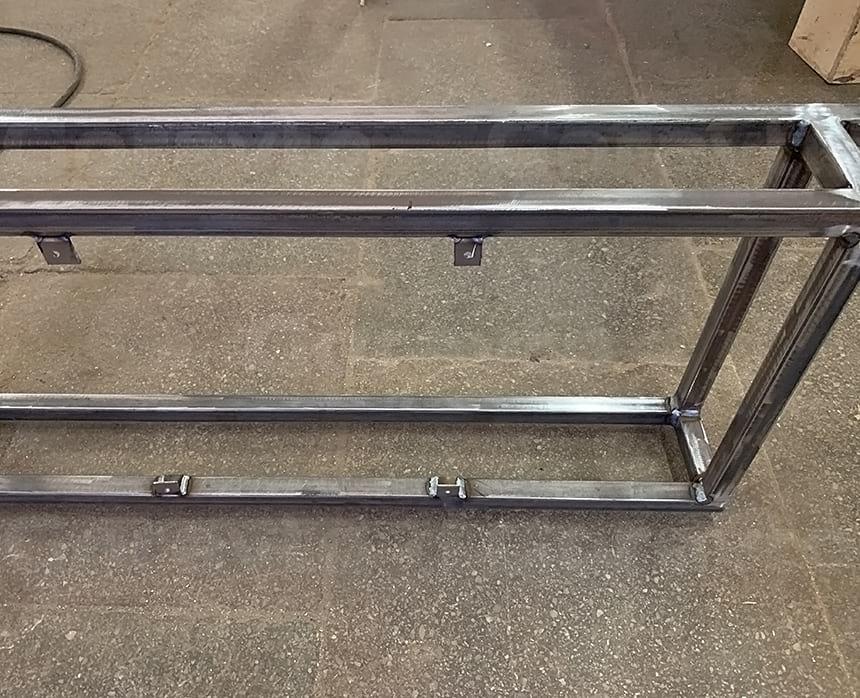 Изготовление кронштейна для установки и крепления холодильных модулей в кузов фудтрака