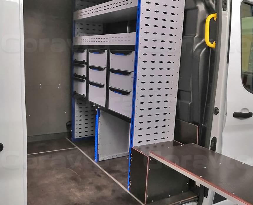Переоборудование фургона Форд Транзит в техничку на колесах для сварочных работ