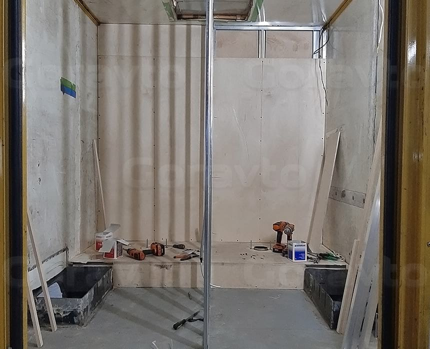 Подготовка к обшивке стен и потолка композитными панелями