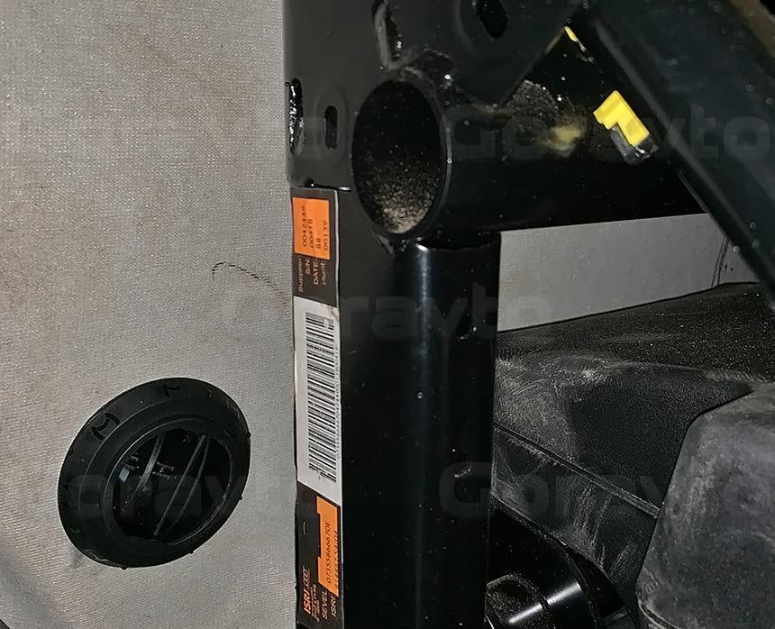 Вывод дефлектора в кабину для отопления Вебасто при необходимости