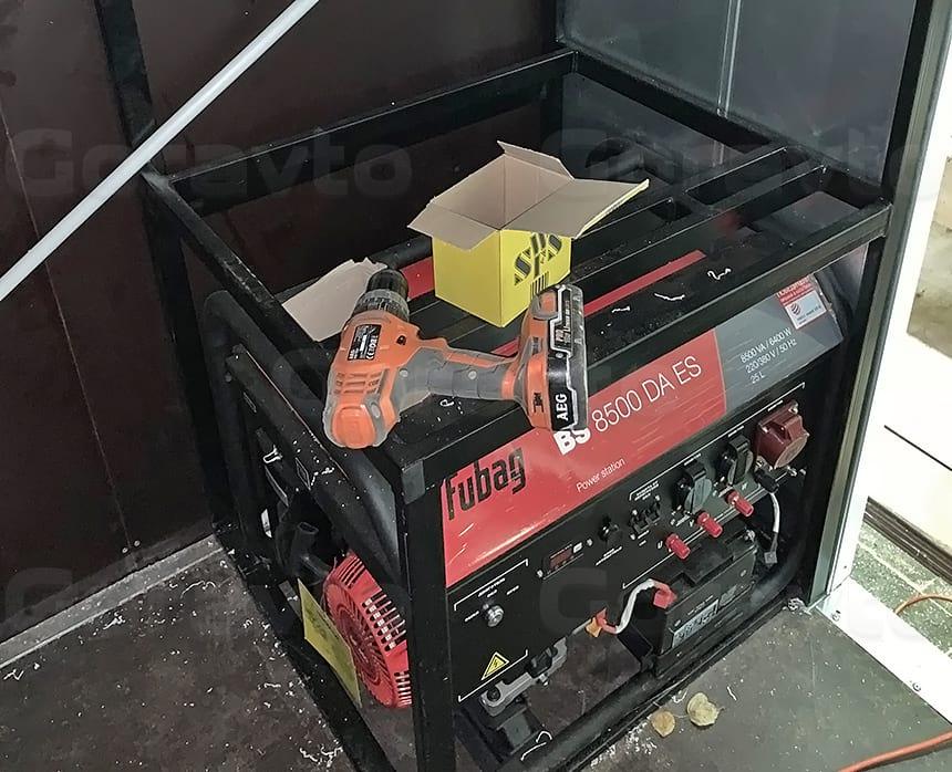 Кронштейн для монтажа герератора и компрессора
