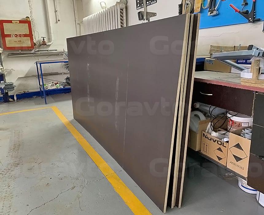Листы транспортной влагостойкой фанеры толщиной 21 мм