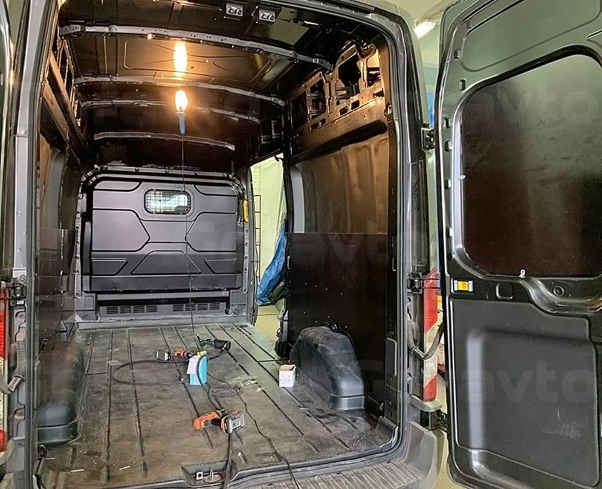 Обшивка дверей Форд Транзит