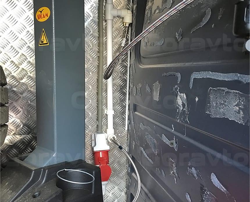Подключение шиномонажного станка к сети