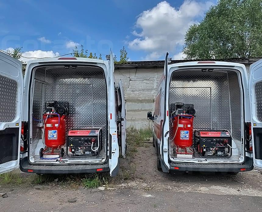 Мобильные шиномонтажи для работы по выезду ремонта и замены колес